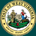 Seal of the State of West Virginia, U.S.A. Montani Semper Liberi (Mountaineers: Always Free).
